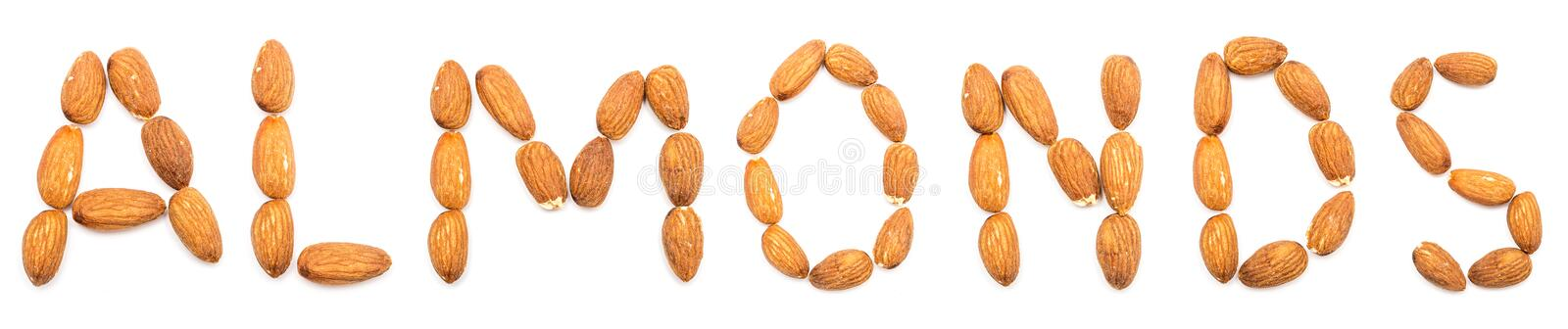 Download Almonds stock image. Image of close, eatable, detail - 25968241