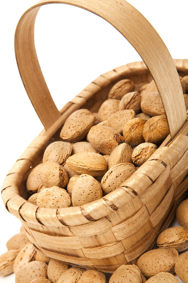 Download Almonds stock photo. Image of diet, basket, closeup, almonds - 27446690