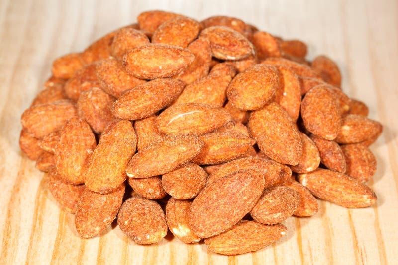 Download Almonds stock photo. Image of fiber, closeup, color, group - 27587652