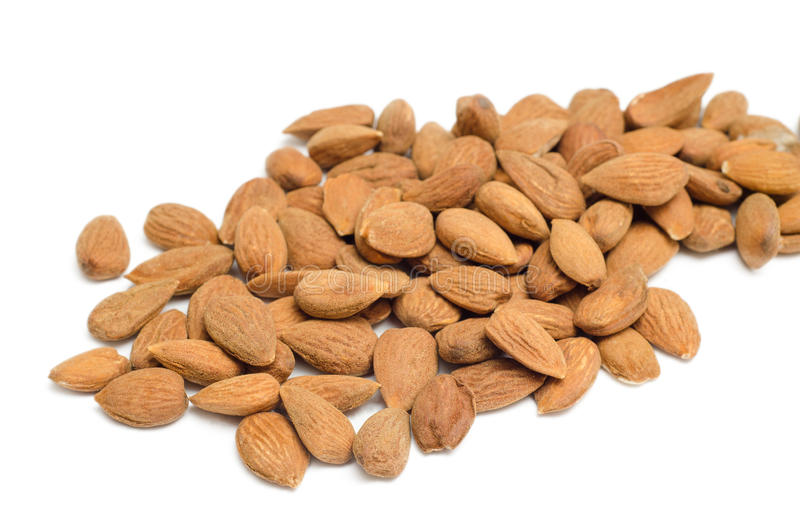 Download Almonds stock photo. Image of isolated, bunch, almond - 28829962