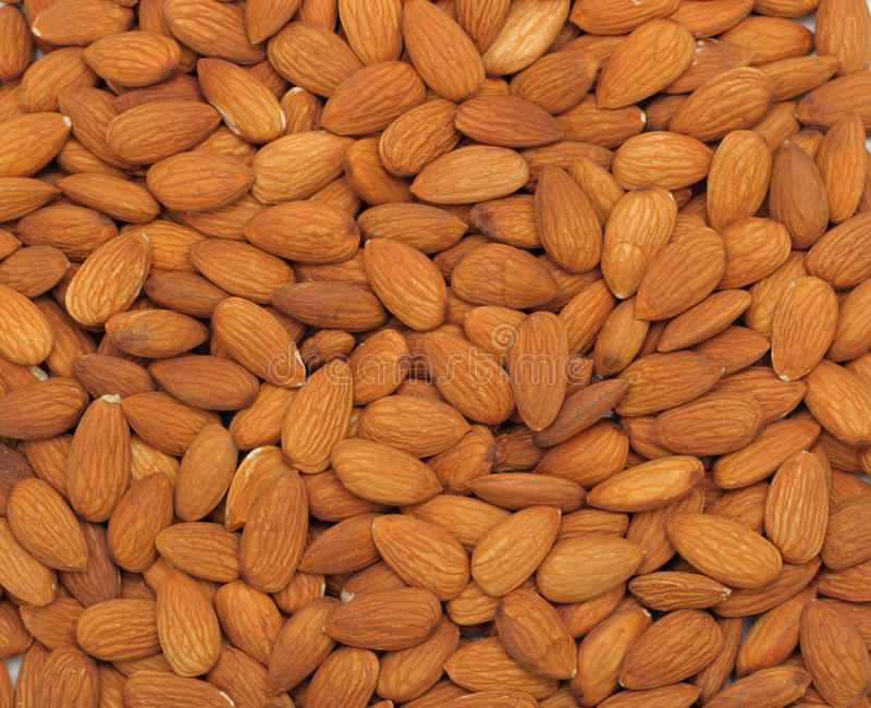 Download Almonds background stock photo. Image of length, close - 12065054