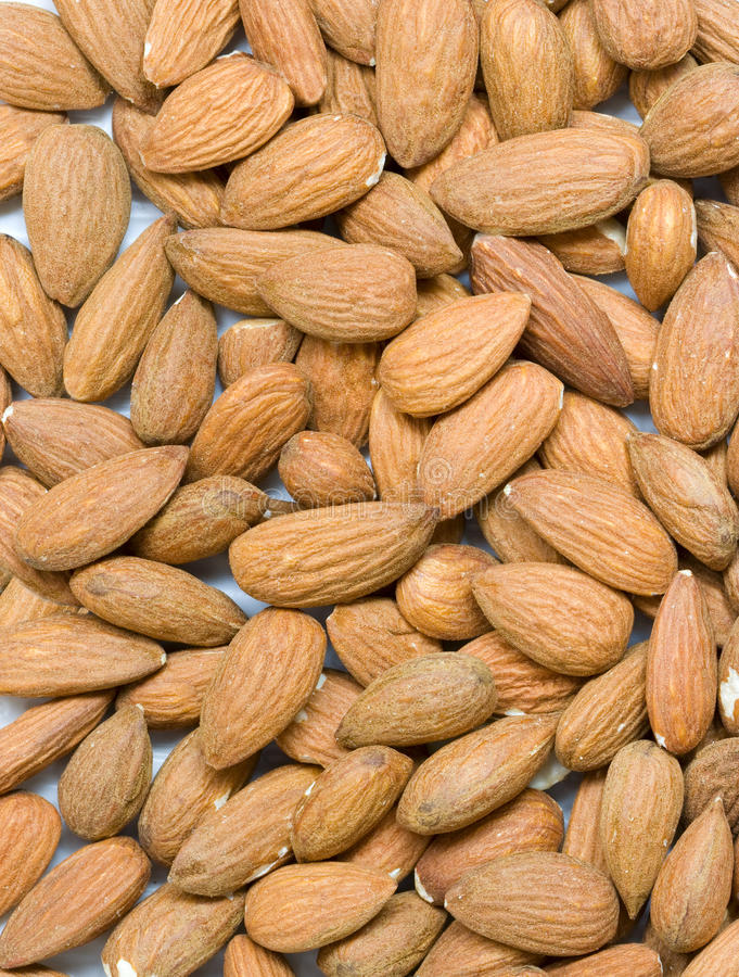 Download Almonds background stock photo. Image of macro, background - 17857090