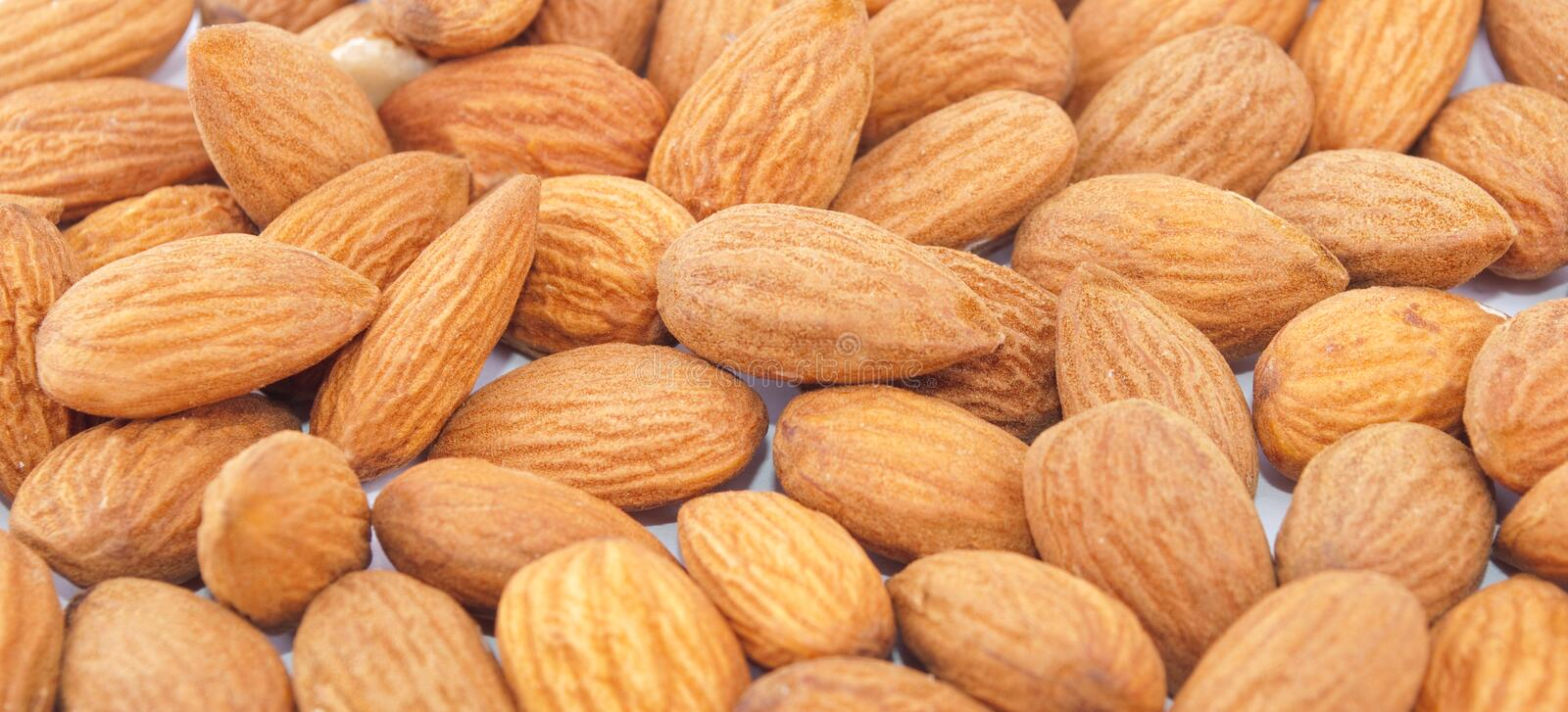 Download Almonds background stock image. Image of brown, ingredient - 19139993