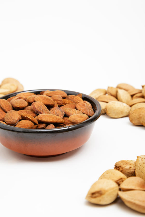 Download Almonds In A Bowl, Snacks Of Nuts Stock Photo - Image of hard, detail: 27255830
