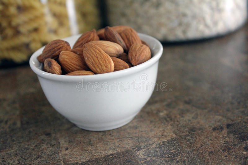 Download Almonds in dish stock photo. Image of delicious, nutritious - 24168082