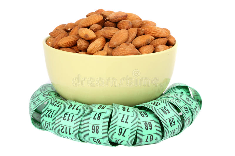 Download Almonds And Meter Royalty Free Stock Photography - Image: 29098317