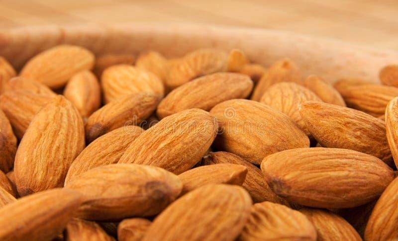 Download Almonds stock image. Image of bowl, organic, horizontal - 30700251