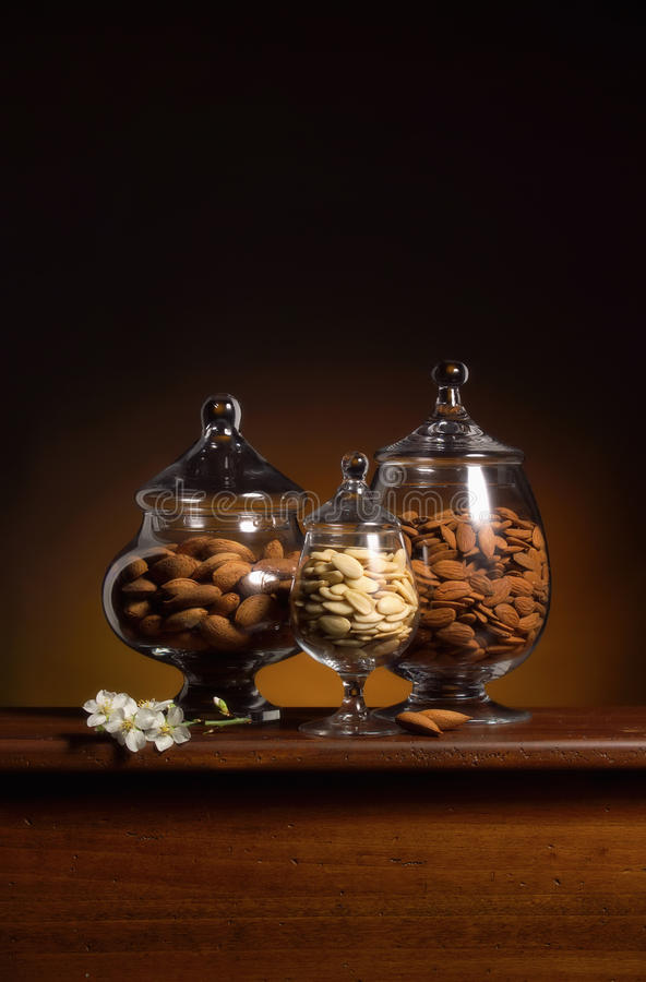 Almonds Still life