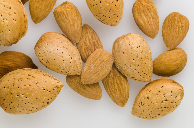Almonds01 royalty free stock images