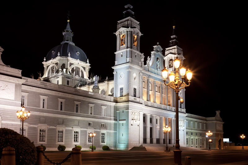 Almudena Cathedral photographie stock