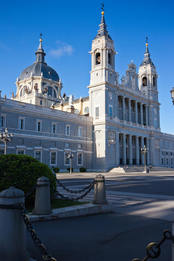 Almudena Cathedral photo stock