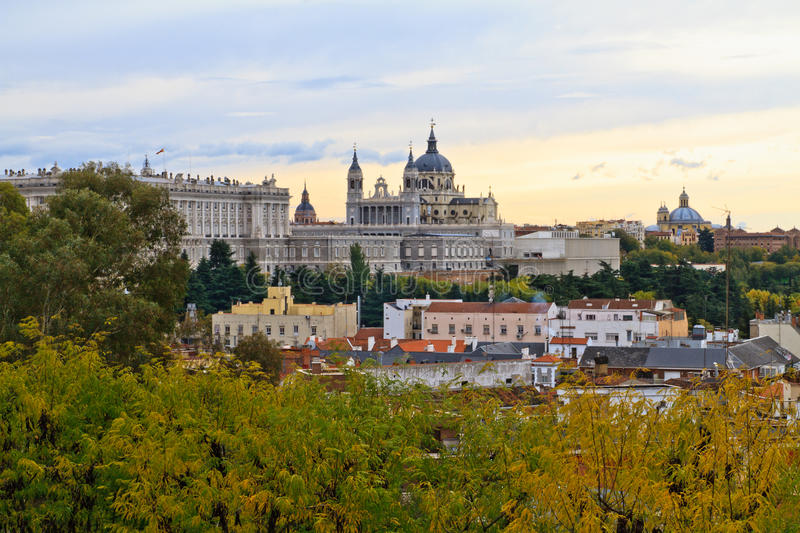 Download Almudena Cathedral, Madrid, Spain Stock Photo - Image: 23226616