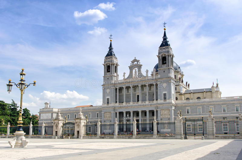 Almudena Cathedral Editorial Photography