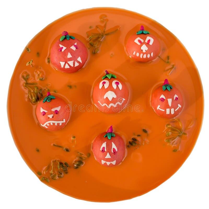 Almuerzo de Halloween fotografía de archivo