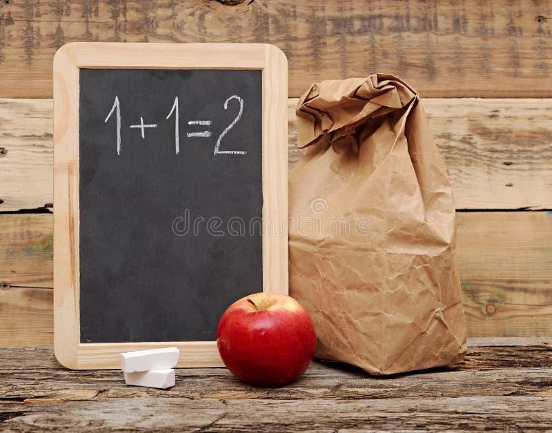 Almuerzo escolar fotos de archivo libres de regalías