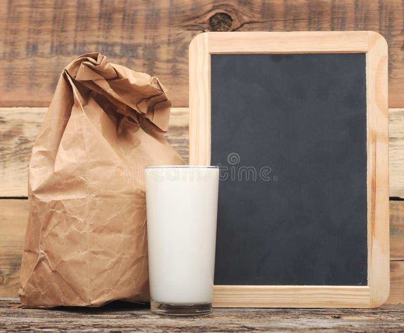Almuerzo escolar imagen de archivo
