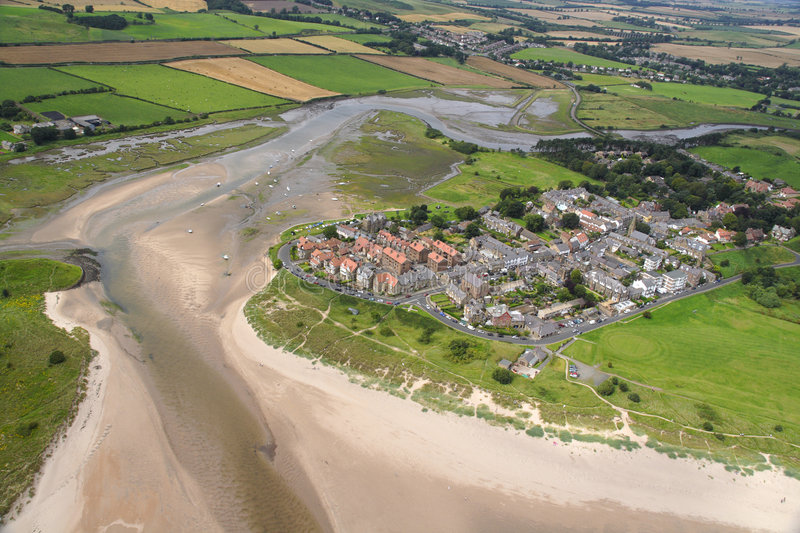 Alnmouth View royalty free stock photography