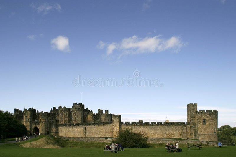 Download Alnwick Castle stock image. Image of history, fort, mystical - 519993