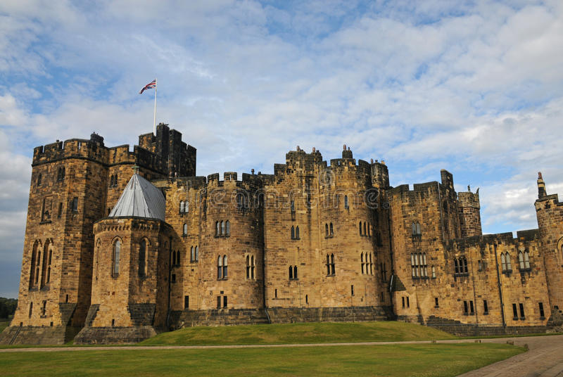 Alnwick Castle royalty free stock photos