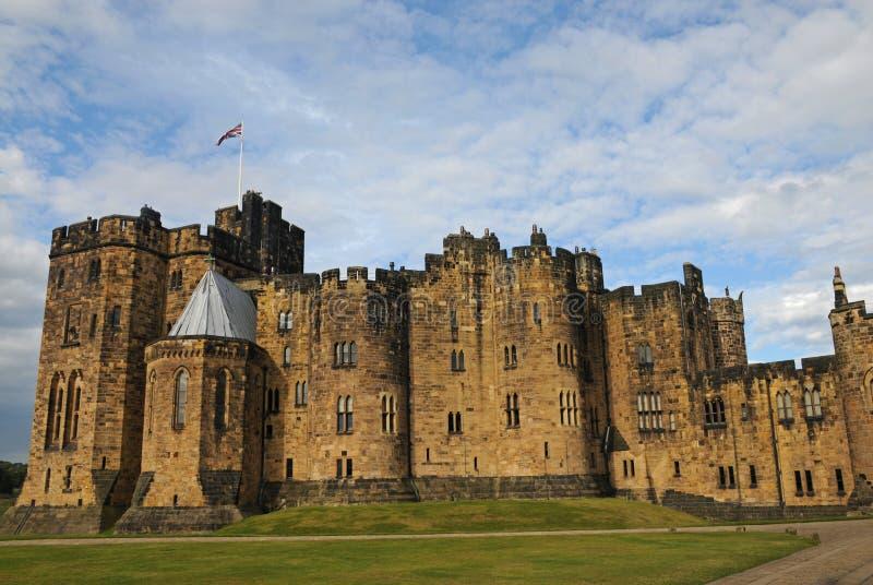 1309 Alnwick diuków England księcia zamek do większego zamieszkiwał Northumberland percy jest drugi zdjęcia royalty free