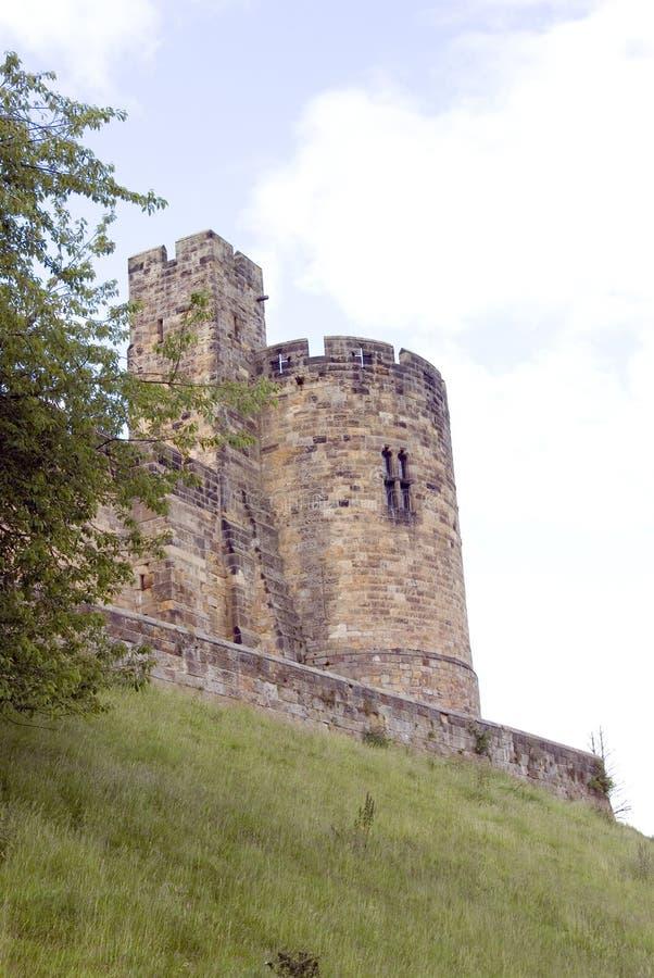 alnwick konstabli wieży zamku obraz stock