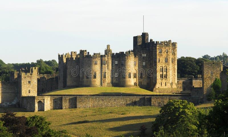 alnwick zamku obraz royalty free