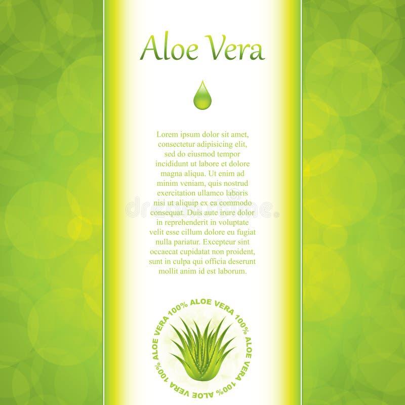 Aloes Vera royalty ilustracja