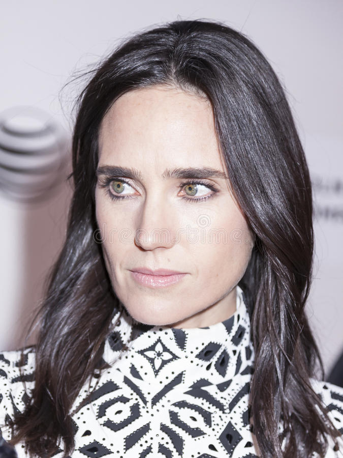 Aloft. New York, NY, USA - April 23, 2015: Actress Jennifer Connelly attends 2015 New York Tribeca Film Festival Premiere Narrative Aloft at BMCC Tribeca PAC stock photo