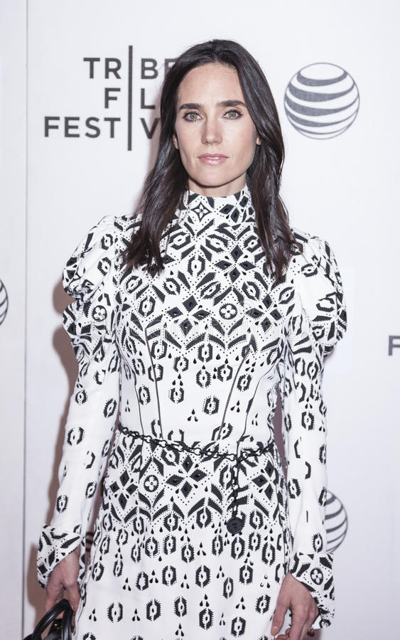 Aloft. New York, NY, USA - April 23, 2015: Actress Jennifer Connelly attends 2015 New York Tribeca Film Festival Premiere Narrative Aloft at BMCC Tribeca PAC stock images