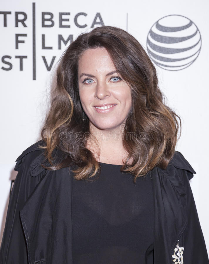 Aloft. New York, NY, USA - April 23, 2015: Director Claudia Llosa attends 2015 New York Tribeca Film Festival Premiere Narrative Aloft at BMCC Tribeca PAC stock photography