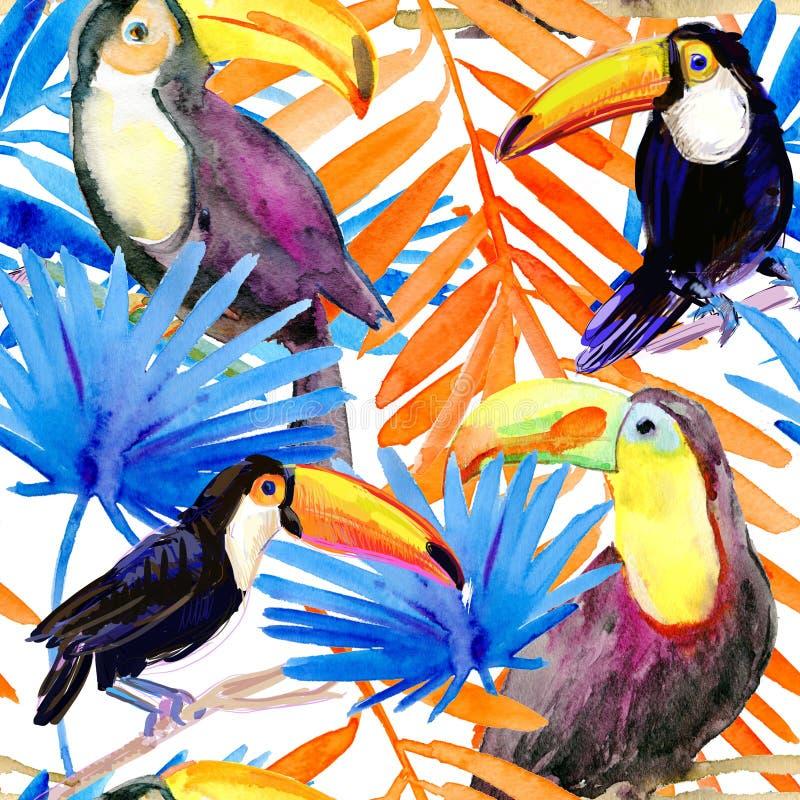 aloha картина Гавайских островов безшовная самана коррекций высокая картины photoshop качества развертки акварель очень иллюстрация вектора