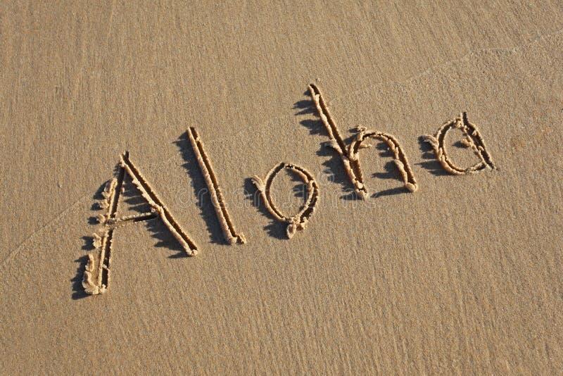 Aloha imagem de stock royalty free