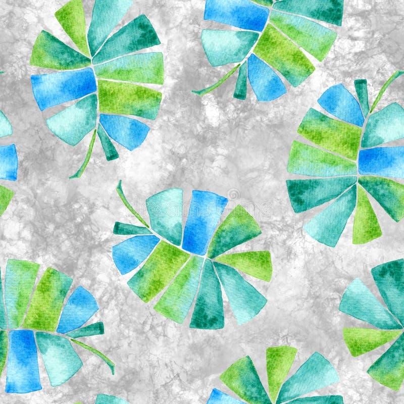 Aloha configuration sans joint hawa?enne Copain pu?ril d'aquarelle illustration libre de droits