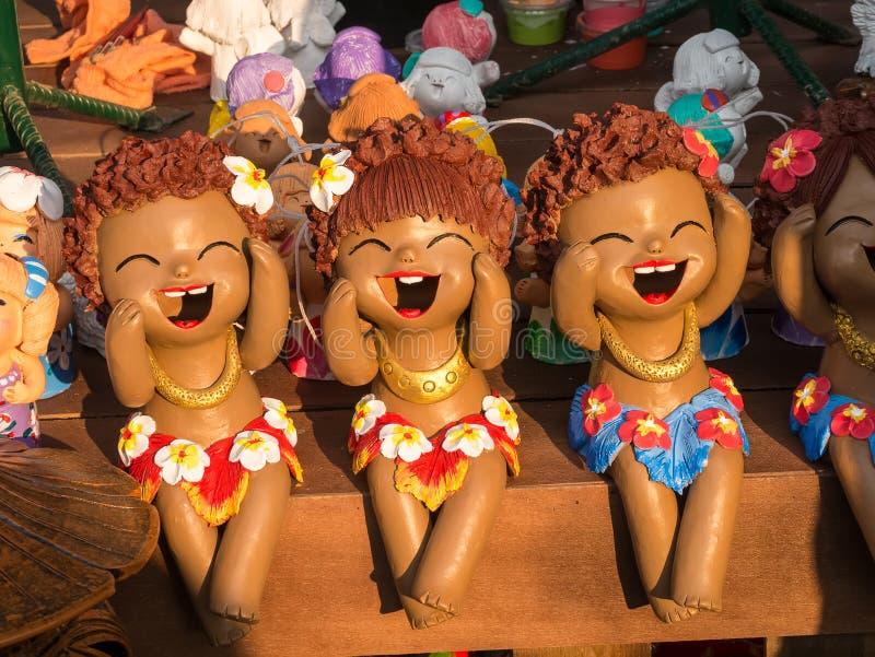 Aloha Cray Doll fotografia de stock royalty free