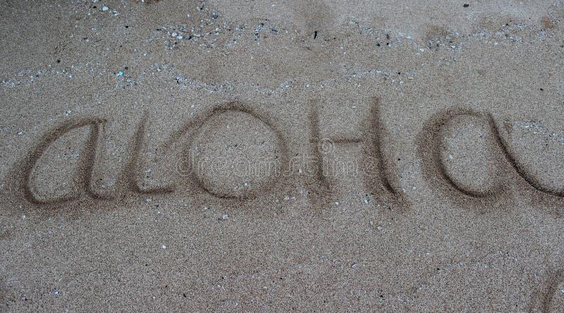 Aloha Havaí imagem de stock