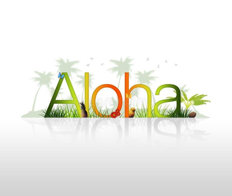 Aloha - Hawaii libre illustration