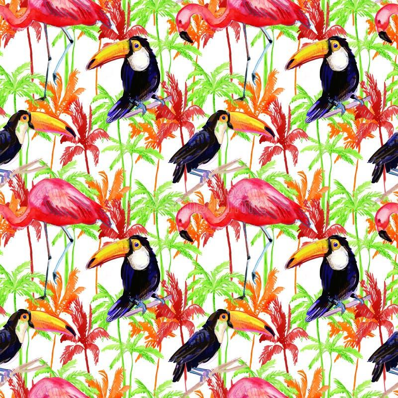 Aloha hawaiisches nahtloses Muster Adobe Photoshop für Korrekturen stock abbildung