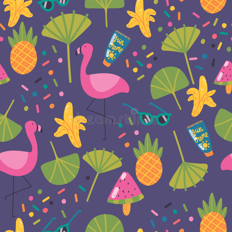 Aloha Summer! royalty-vrije stock afbeeldingen
