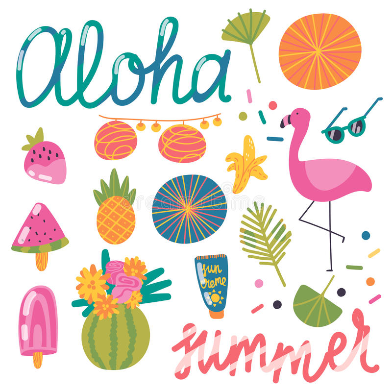 Aloha Summer! royalty free stock image