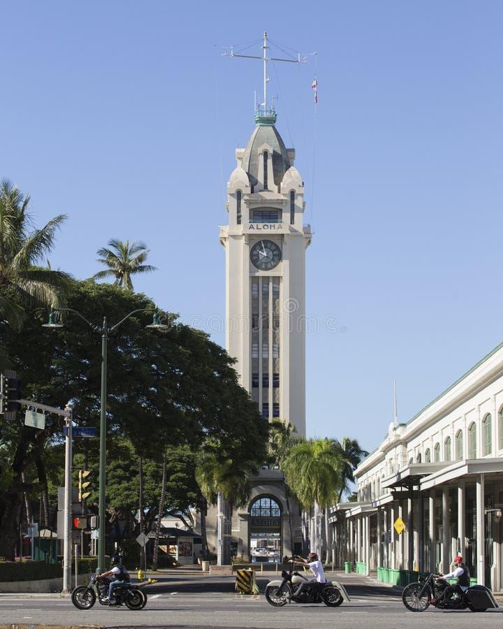 Aloha Tower fotografia de stock royalty free