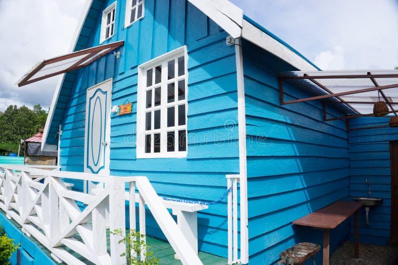 Alojamento da cabine de Marakau fotografia de stock royalty free
