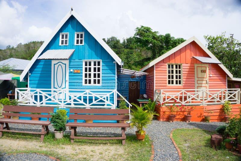 Alojamento da cabine de Marakau imagem de stock royalty free