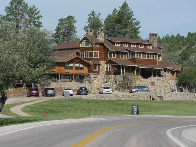 Alojamento do jogo do estado, Custer State Park fotos de stock royalty free