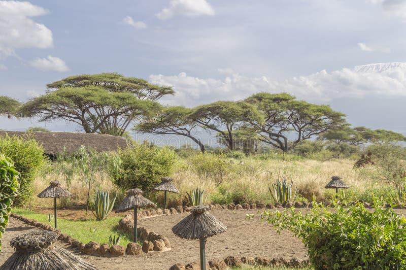 Alojamento em Kenya imagem de stock