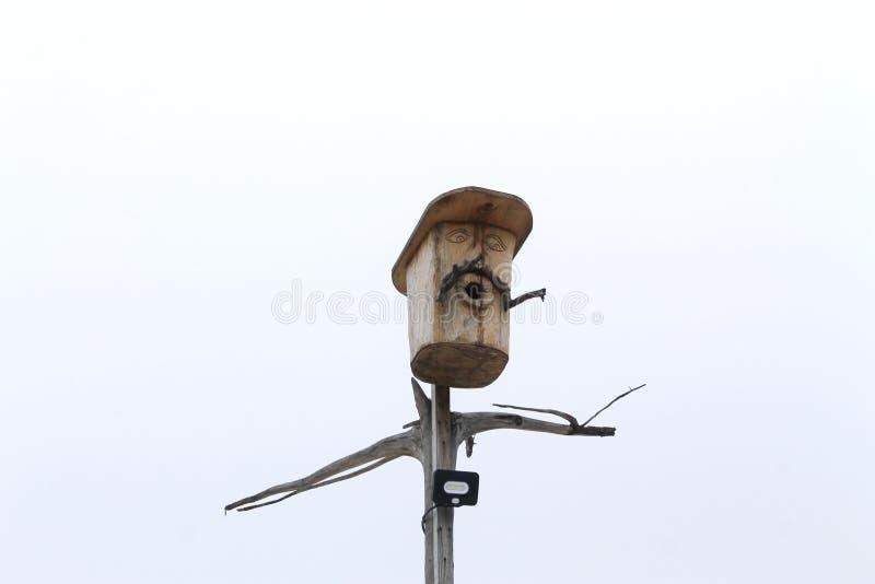 Alojamento para pássaros foto de stock