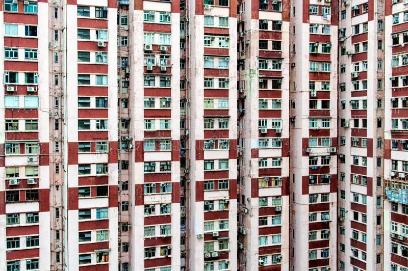 Alojamento velho em Hong Kong fotos de stock