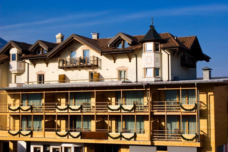 Alojamiento alpino fotos de archivo libres de regalías
