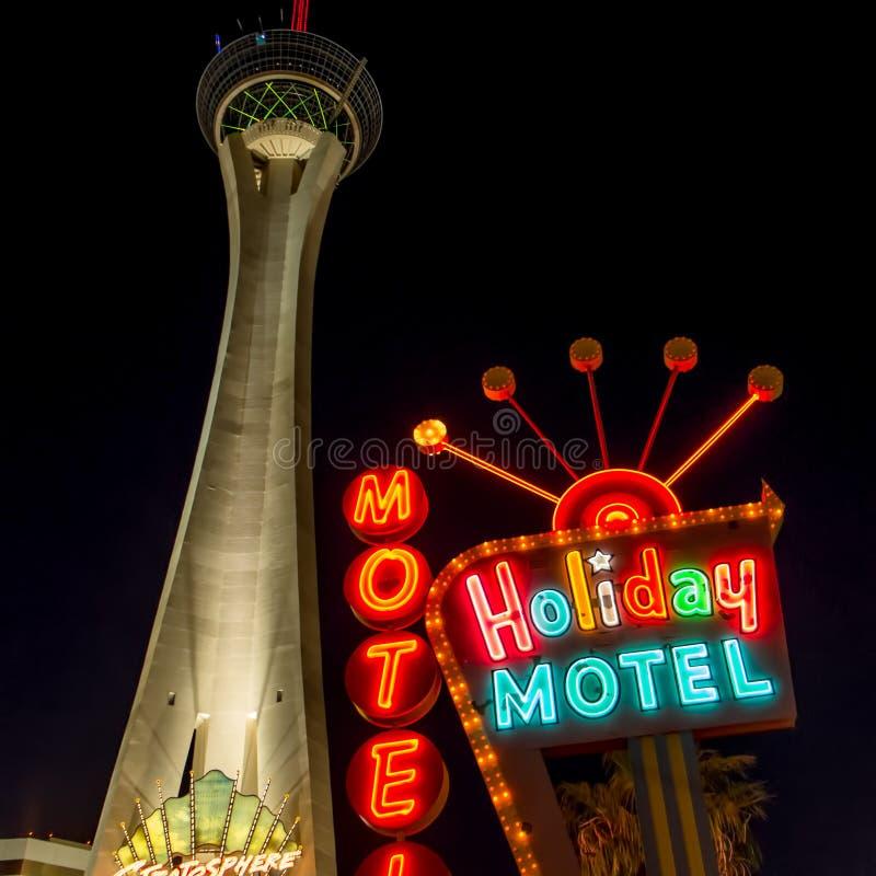 Alojamiento de Las Vegas imagen de archivo libre de regalías