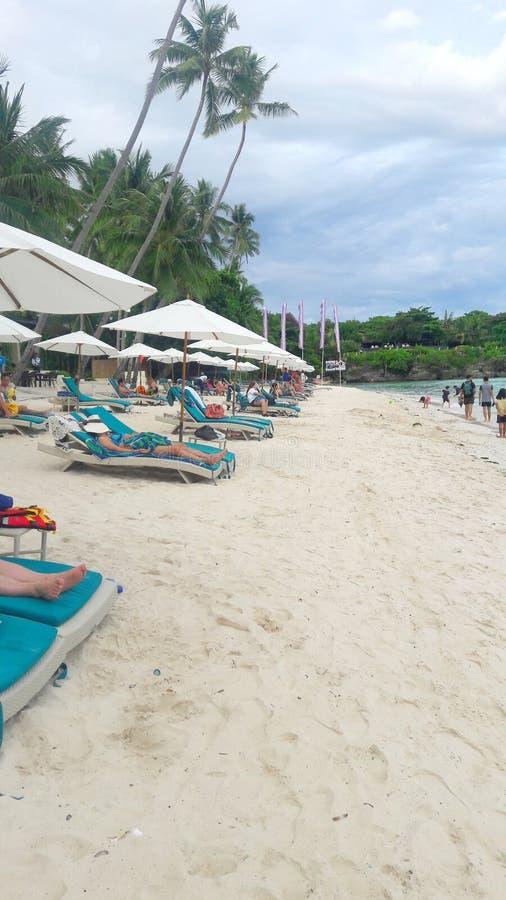 Alona Beach royalty-vrije stock foto