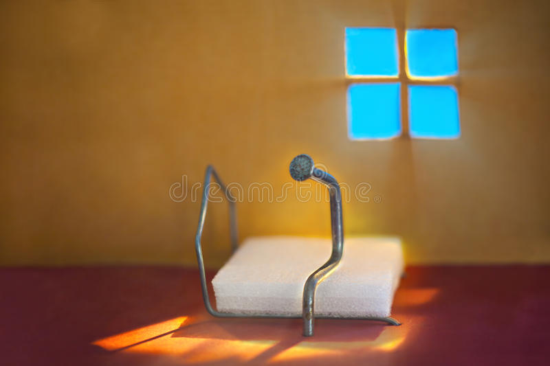 Download Alone stock image. Image of behaviour, bedroom, color - 20603777